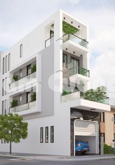 Hoàn thành mẫu thiết kế biệt nhà phố hiện đại 4 tầng tại Hải Phòng - NPHD 021