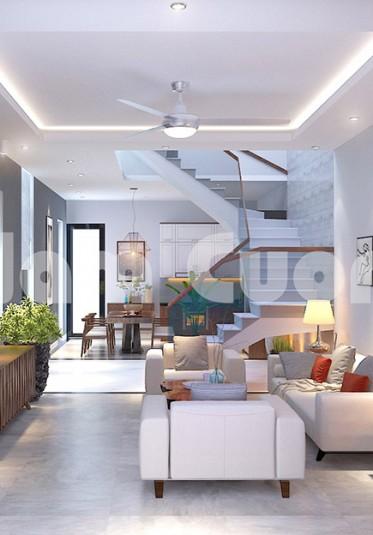 Thiết kế nội thất khách bếp-Sử dụng vách ngăn phòng thế nào?