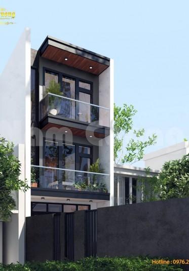 Thiết kế nhà đẹp 3 tầng hiện đại tại Hải Phòng