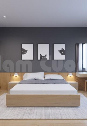 Thiết kế nội thất phòng ngủ hiện đại sang trọng, ấn tượng