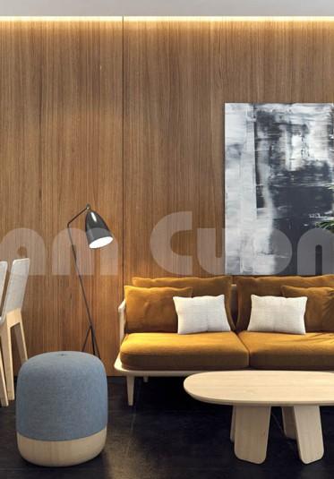 Thiết kế nội thất nhà ống hiện đại sang trọng-CĐT Lương Tiến Chiến