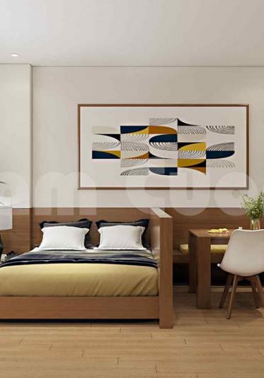 Thiết kế nội thất căn hộ cho thuê phong cách hiện đại