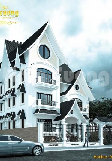 Tìm hiểu kiến trúc nhà kiểu Mỹ qua mẫu thiết kế của Nam Cường