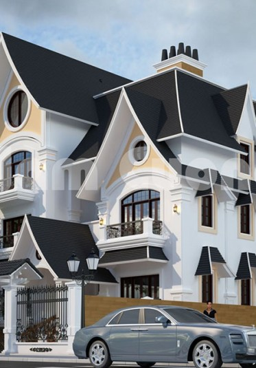 Hưởng thụ phong cách sống với mẫu thiết kế biệt thự kiểu Mỹ