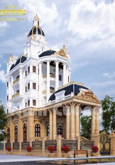 Chinh phục khách hàng với mẫu biệt thự lâu đài tại Hà Nội