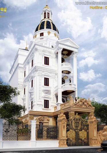 Mẫu thiết kế biệt thự lâu đài đẳng cấp tại Sài Gòn - BTLD 005