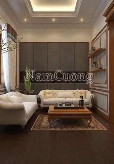 Thiết kế nội thất đẹp cho biệt thự Pháp tại Quảng Ninh - NTBTP 012