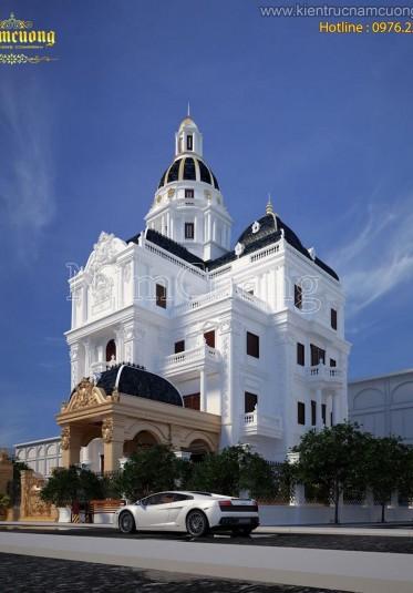 Thiết kế biệt thự lâu đài cổ điển đẹp tại Đà Nẵng