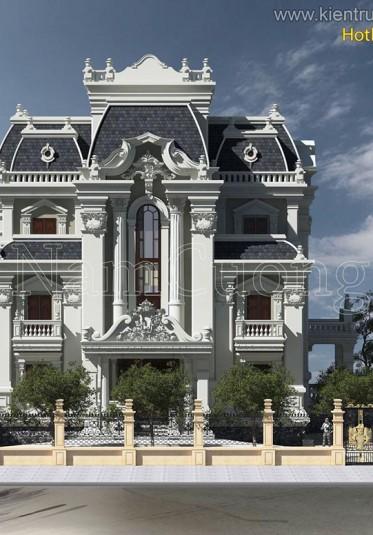 Những mẫu biệt thự lâu đài kiến trúc Pháp ấn tượng của NCDC năm 2016