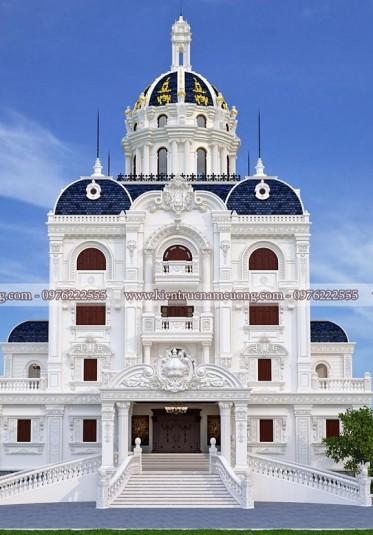3 mẫu biệt thự lâu đài đẹp phong cách cổ điển Pháp của NCDC