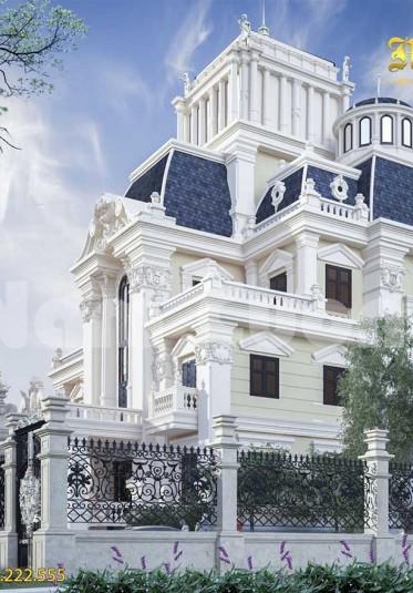 Không gian sống mơ ước của mẫu biệt thự lâu đài tại Sài Gòn