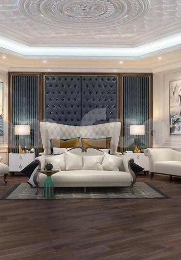 Mẫu thiết kế nội thất phòng ngủ cho lâu đài cổ điển