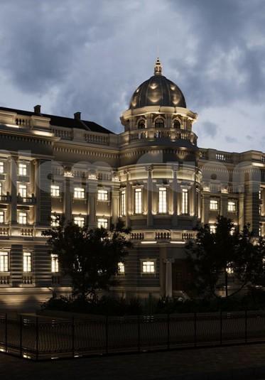 Mẫu thiết kế biệt thự lâu đài kết hợp khu nghỉ dưỡng