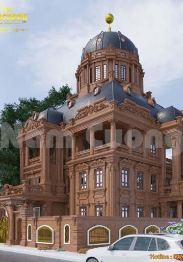 Mẫu thiết kế biệt thự lâu đài cổ điển đẹp lạ tại Sài Gòn