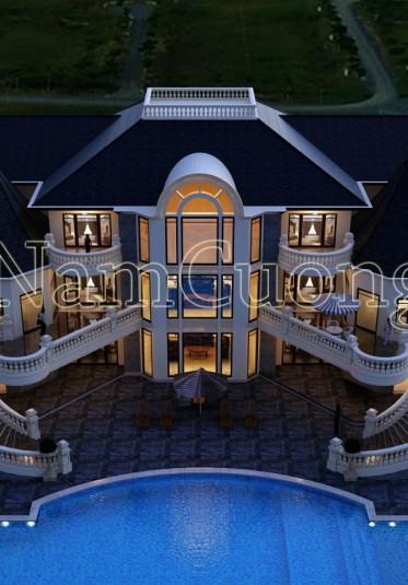 Biệt thự châu âu- 5 ngôi biệt thự cổ điển châu âu lãng mạn nhất