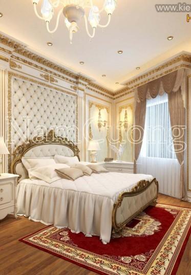 Thiết kế nội thất biệt thự Châu Âu đẹp, sang trọng