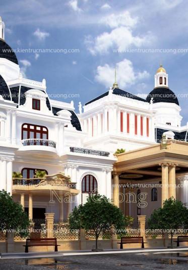 Ngôi biệt thự Pháp cổ điển tại Sài Gòn do Nam Cường thiết kế