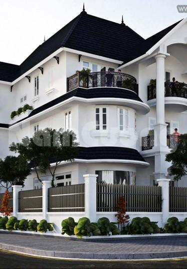 Tổng hợp một số mẫu kiến trúc biệt thự tân cổ điển ấn tượng, sang trọng - BTCD 012