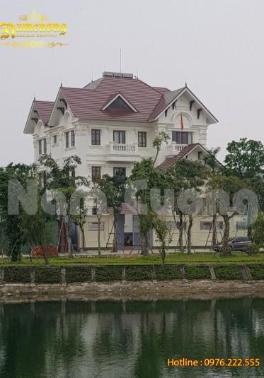 Thi công hoàn thiện biệt thự tân cổ điển tại Quảng Bình