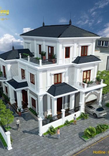 Mẫu biệt thự kiến trúc tân cổ điển đẹp tại Quảng Bình - BTCD 024