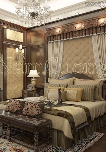 Những mẫu phòng ngủ đẹp mang phong cách tân cổ điển của NCDC