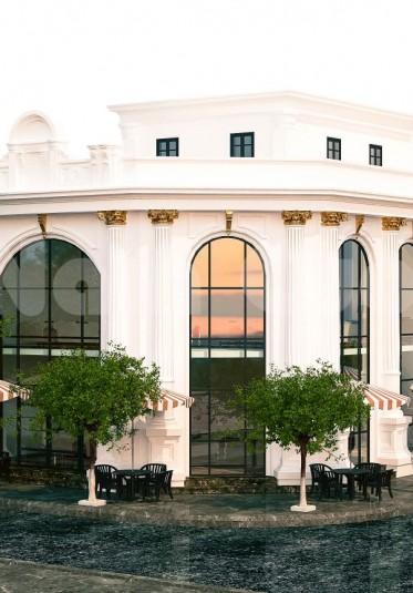 Mẫu thiết kế nhà hàng kiến trúc tân cổ điển độc đáo tại Hải Phòng - BTTCD 040