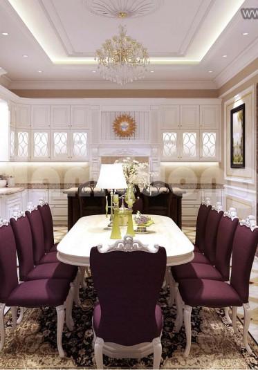 Mẫu thiết kế nội thất cho biệt thự tân cổ điển tại Sài Gòn - NTBTCD 023