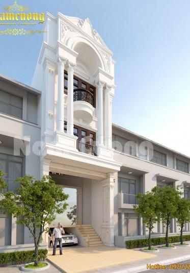 Thiết kế nhà ống tân cổ điển tại Đà Nẵng đẹp sang trọng - NPTCD 006