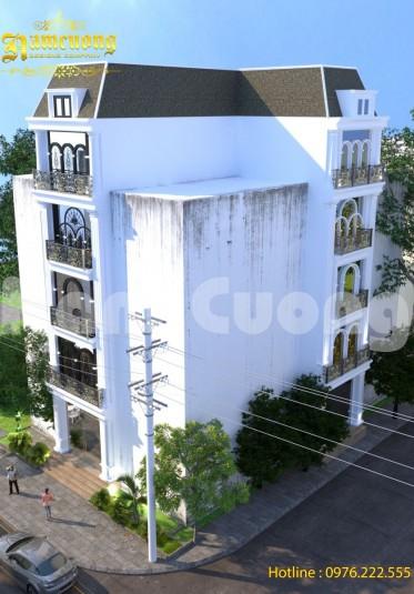 Kiến trúc tân cổ điển- Mẫu thiết kế nhà ống tân cổ điển