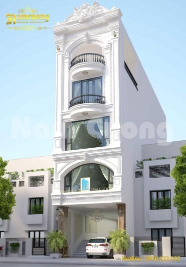 Hoàn thành thiết kế tòa nhà làm việc 5 tầng tại Bình Dương