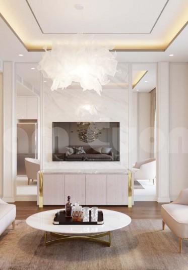 Thiết kế nội thất hiện đại cho nhà ống 4 tầng
