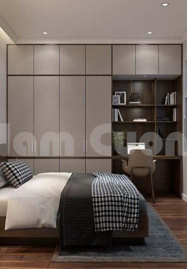 Thiết kế nội thất phòng ngủ có diện tích 10-20m2 trong nhà ống