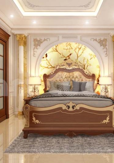 Nội thất phòng ngủ biệt thự đẳng cấp tiện nghi và ấm cúng
