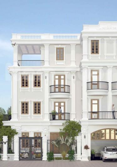 Thiết kế biệt thự tân cổ điển-phong cách kiến trúc làm hài lòng mọi chủ đầu tư