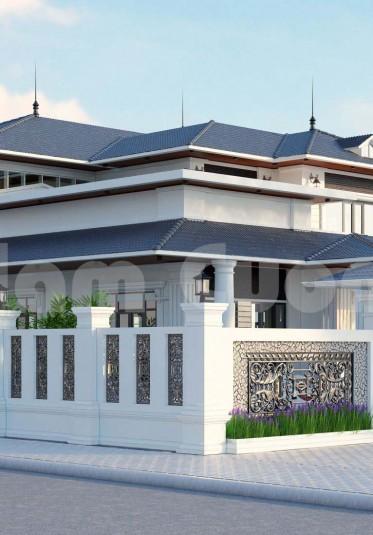 Phương án mới cho mẫu thiết kế biệt thự tân cổ điển 2 tầng