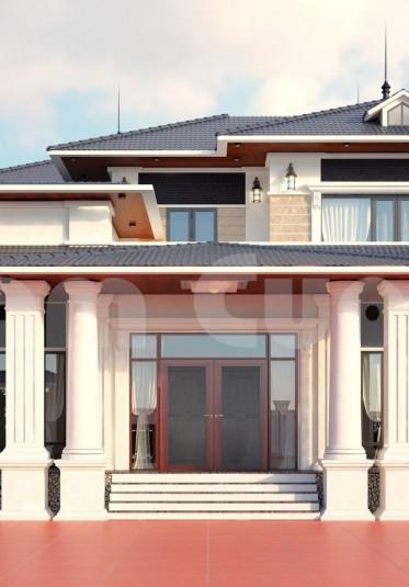 Kiến trúc châu Âu- Thiết kế biệt thự tân cổ điển châu Âu