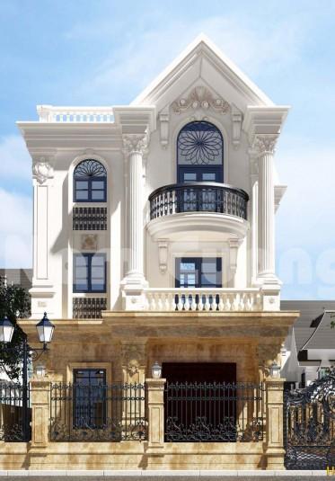 Thiết kế biệt thự đơn lập Vinhome Riverside đẹp ấn tượng