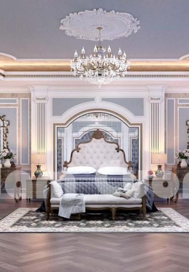 Phòng ngủ lộng lẫy cho biệt thự lâu đài tại Quảng Ninh