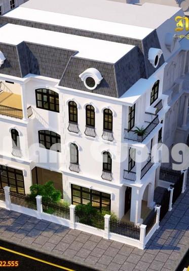 Kiến trúc và nội thất biệt thự đơn lập Venice 284m2
