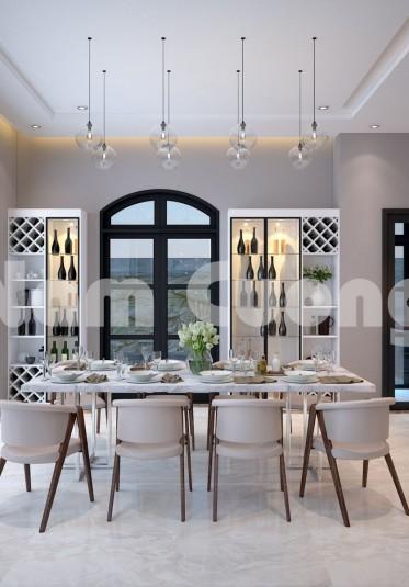 Cảm xúc thăng hoa trong mẫu thiết kế nội thất hiện đại tại biệt thự Vinhomes