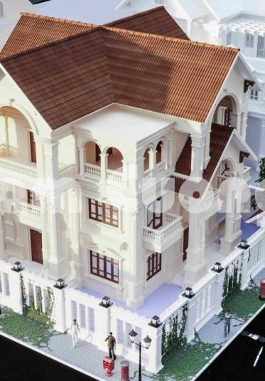 Ngây ngất với vẻ đẹp độc đáo của ngôi biệt thự tân cổ điển - BTTCD 033