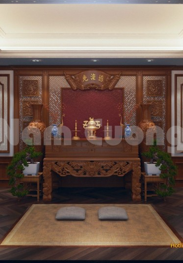 Nội thất xa hoa của ngôi biệt thự lâu đài tại Quảng Bình
