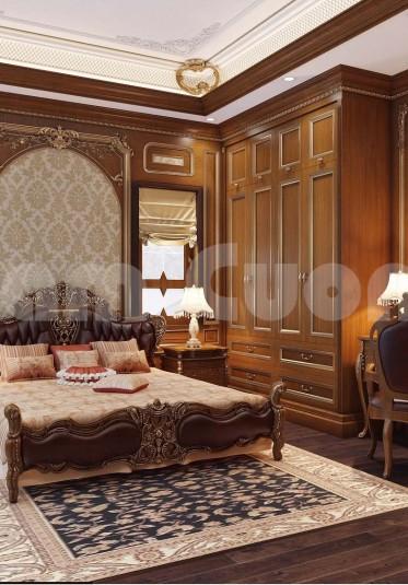 Nội thất tân cổ điển- Gợi ý 4 phòng ngủ cho biệt thự tân cổ điển