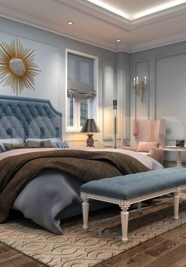 Thiết kế nội thất phòng ngủ có khu thay đồ