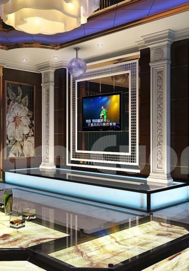 Nội thất ấn tượng của công trình biệt thự tân cổ điển Vinhomes Hà Nội - BTTCD 036