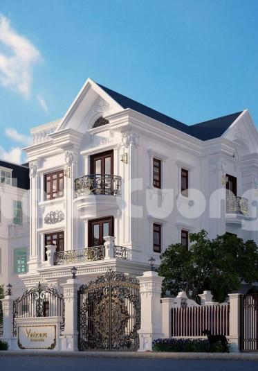 Mẫu thiết kế biệt thự tân cổ điển ấn tượng tại Vinhomes Hà Nội