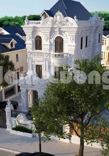 Hoàn thành thiết kế biệt thự Pháp 3 tầng tại Hà Nội