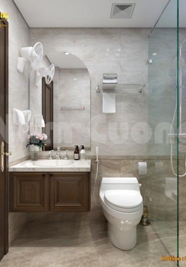 Thiết kế nội thất nhà tắm mang đến sự thư thái