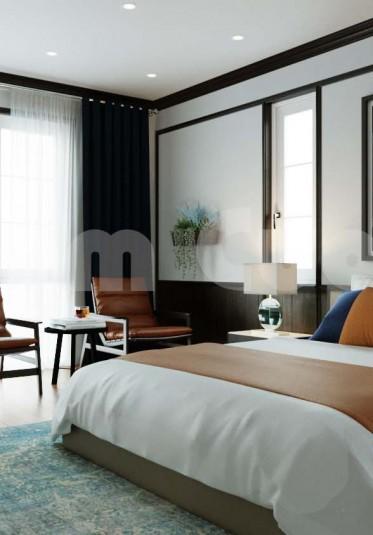 Thiết kế nội thất phòng ngủ cho một ngôi biệt thự