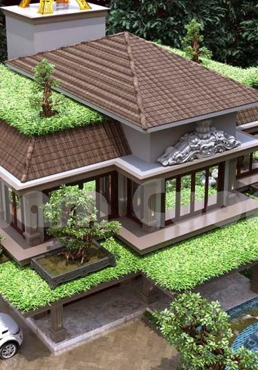 Nhà biệt thự vườn 2 tầng - sự lựa chọn không thể bỏ qua